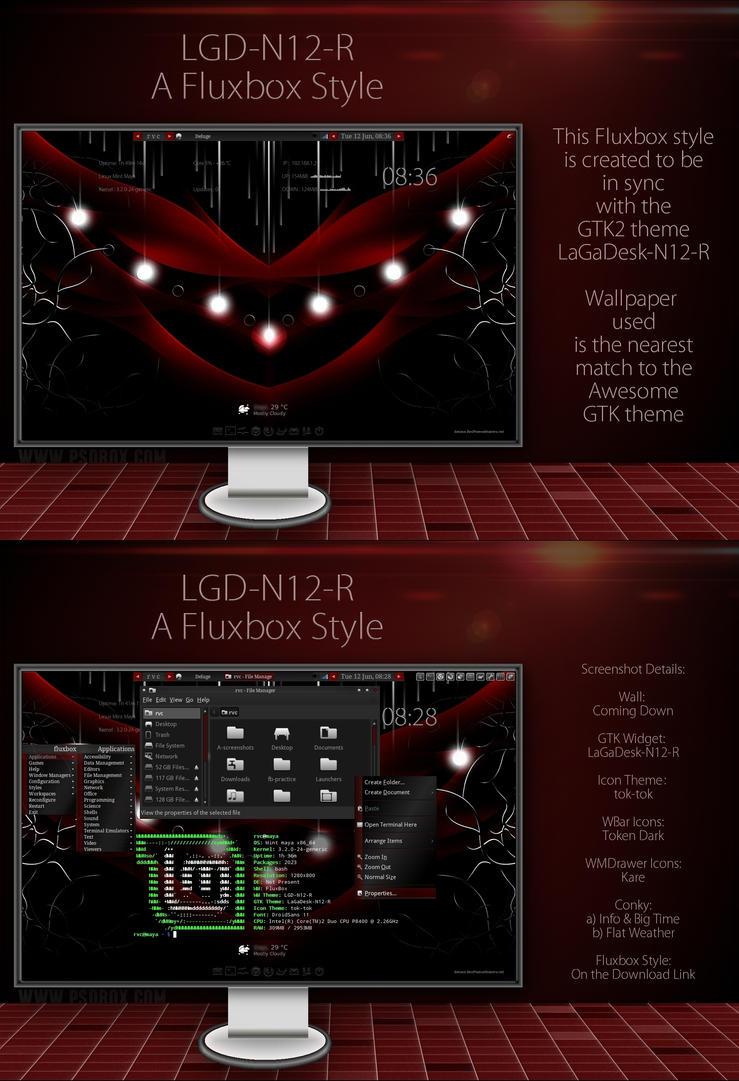LGD-N12-R - Fluxbox Style by rvc-2011