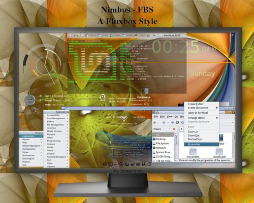 Nimbus - FBS A fluxbox style