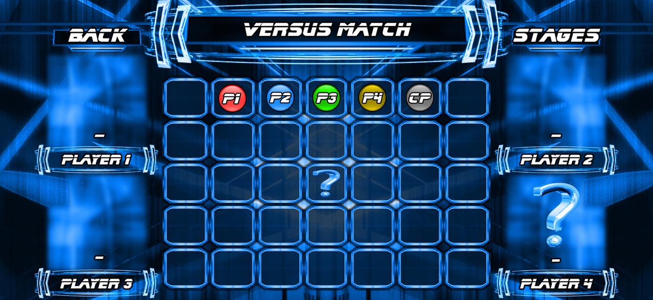 character select screen template by livingdeadsuperstar on deviantart
