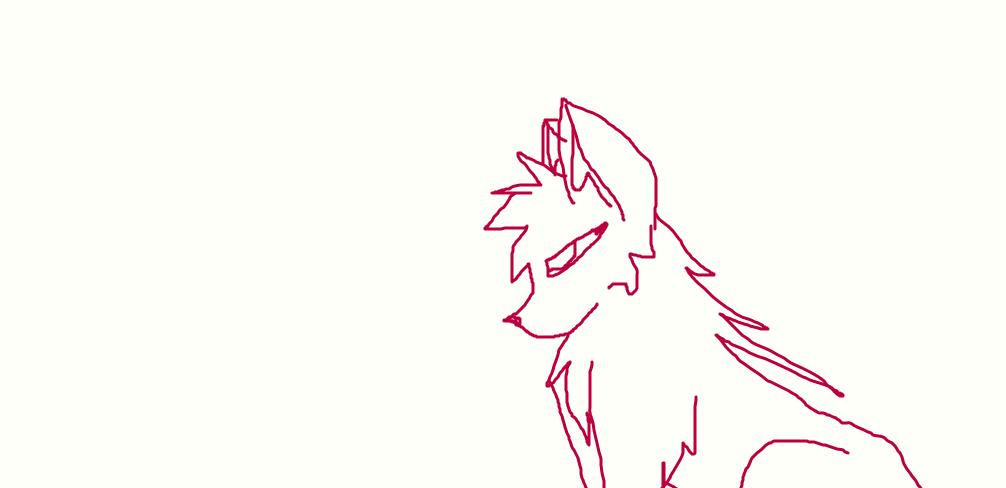kangaroo/wolf hybrid by FlameBerryTheWolf