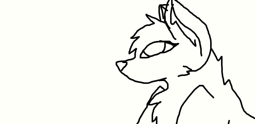 female wolf by FlameBerryTheWolf