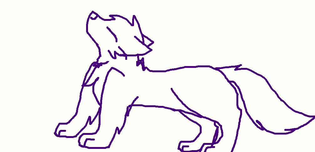 wolf by FlameBerryTheWolf