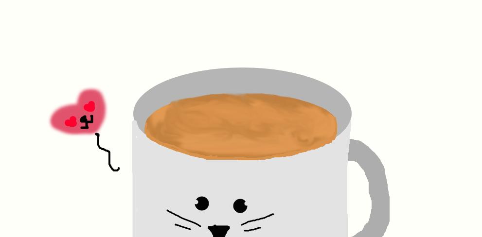 Coffee by FlameBerryTheWolf