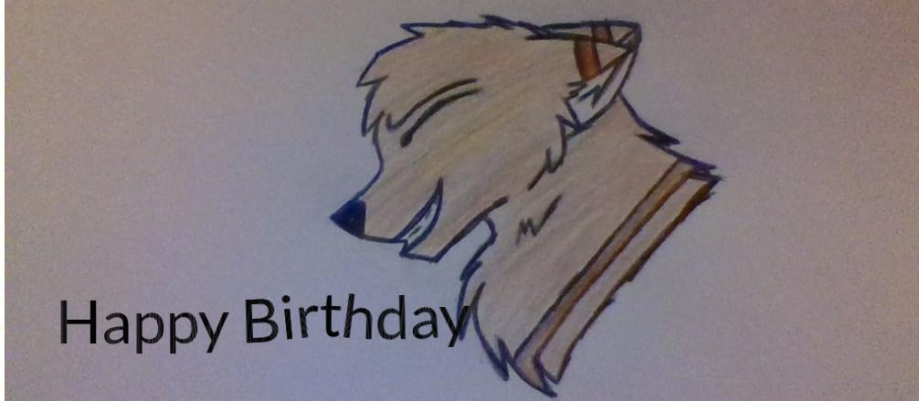 Happy Birthday ...TheEarthAngel! by FlameBerryTheWolf