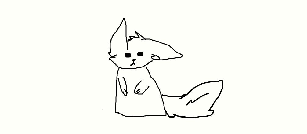 wolf....lol by FlameBerryTheWolf
