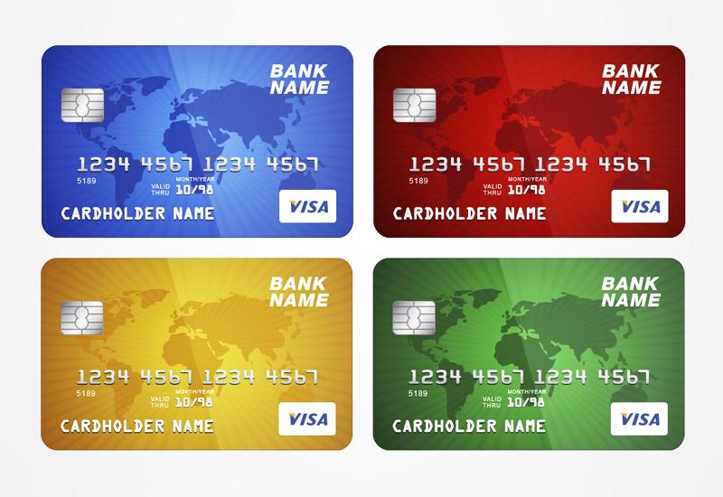 free vector credit card template by alsusart on deviantart