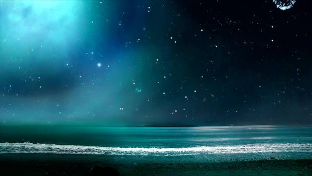 Waves at Night