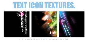 Text Icon Textures