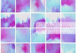 PAINTER 21 ICON TEXTURES by DJelli