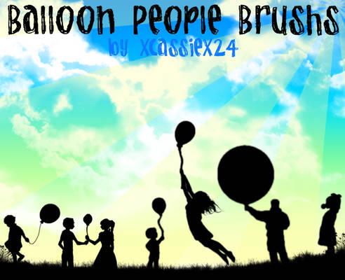 Balloon People Brushes