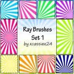 Ray Brushes Set 1