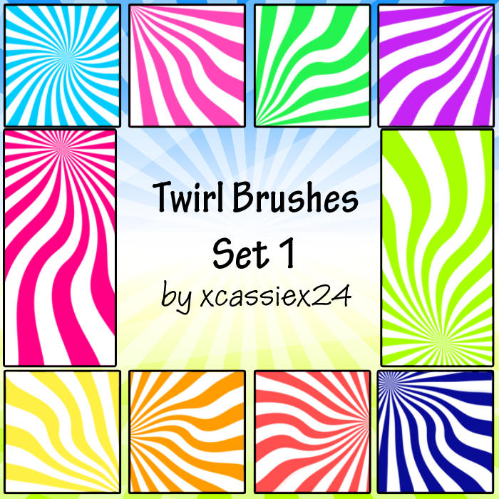 Twirl Brushes Set 1 by xCassiex24