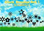 Stalk Brushes Set 1