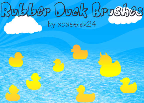 Rubber Duck Brushes
