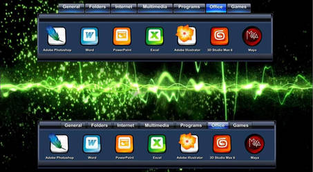 Windows Media Player Dock