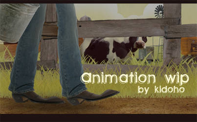 Animated Short WIP by kidoho