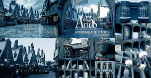 Hogsmeade stock -Backgrounds
