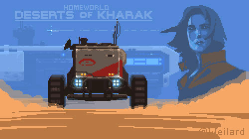 Deserts of Kharak tribute (2x zoom)