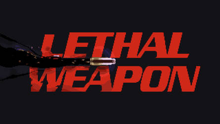 Lethal Weapon Intro, pixel-art animation