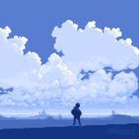 My America - 5x version - pixel-art animation