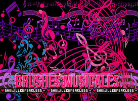 BrushesMusicales by SWBF.da by SheWillBeFearless