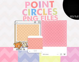 +point circles // png file. by SheWillBeFearless