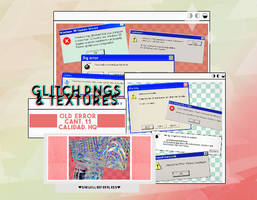 +glitch and error // png files - textures by SheWillBeFearless