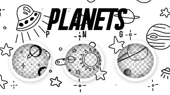 PLANETS PNG