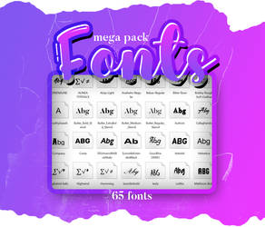 + Pack Fonts