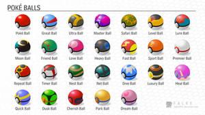 Poke Balls (Gen I-VI)