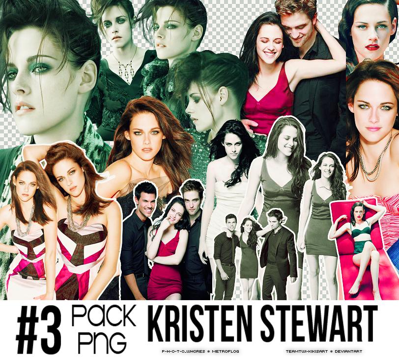 3 Pack Png de Kristen Stewart by TeamTwi-KikisArt