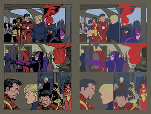 Avengers Volume 4 Issue 1 Page 9 flats