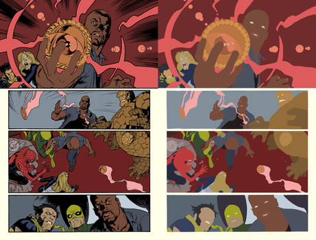 The New Avengers Vol 2 Issue 1 Page 22 flats