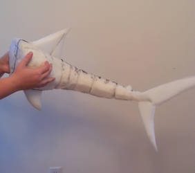 Articulated Shark Tail WIP