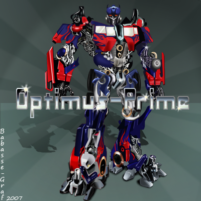 optimus prime by babasse