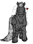 FREE! Base - Chibi Horse (Heavy breed)
