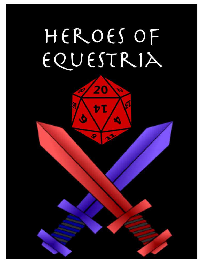 Heroes of Equestria (MLP:FIM RPG) by TorturedArtist745