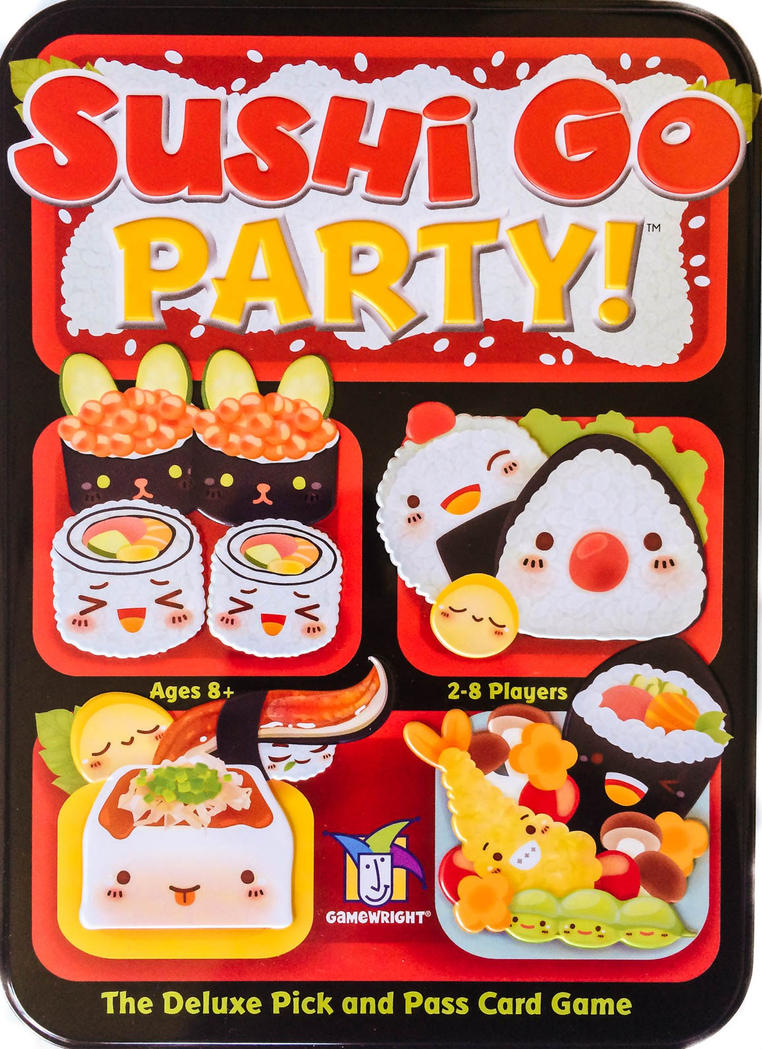 Sushi Go Party Fan Menus by TorturedArtist745