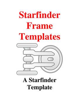 Starfinder Frame Templates