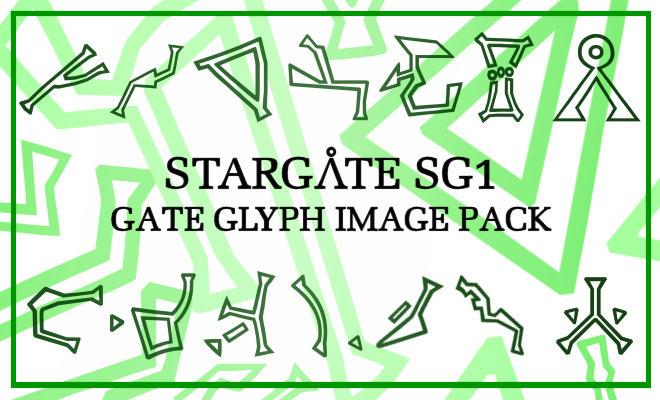 Stargate Glyphs Image Pack By Maerad Of Pellinor On Deviantart
