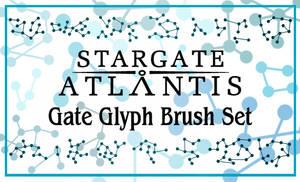 StargateAtlantis Glyph Brushes