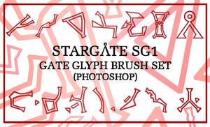 SG1 Glyphs Photoshop Brush Set