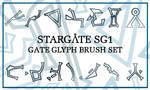 Stargate Glyphs Brush Set