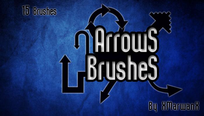 Arrows Brushes by XMarwanX
