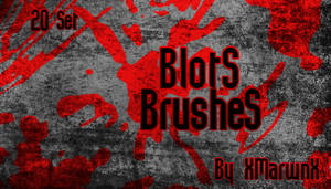 Blots Brushes by XMarwanX