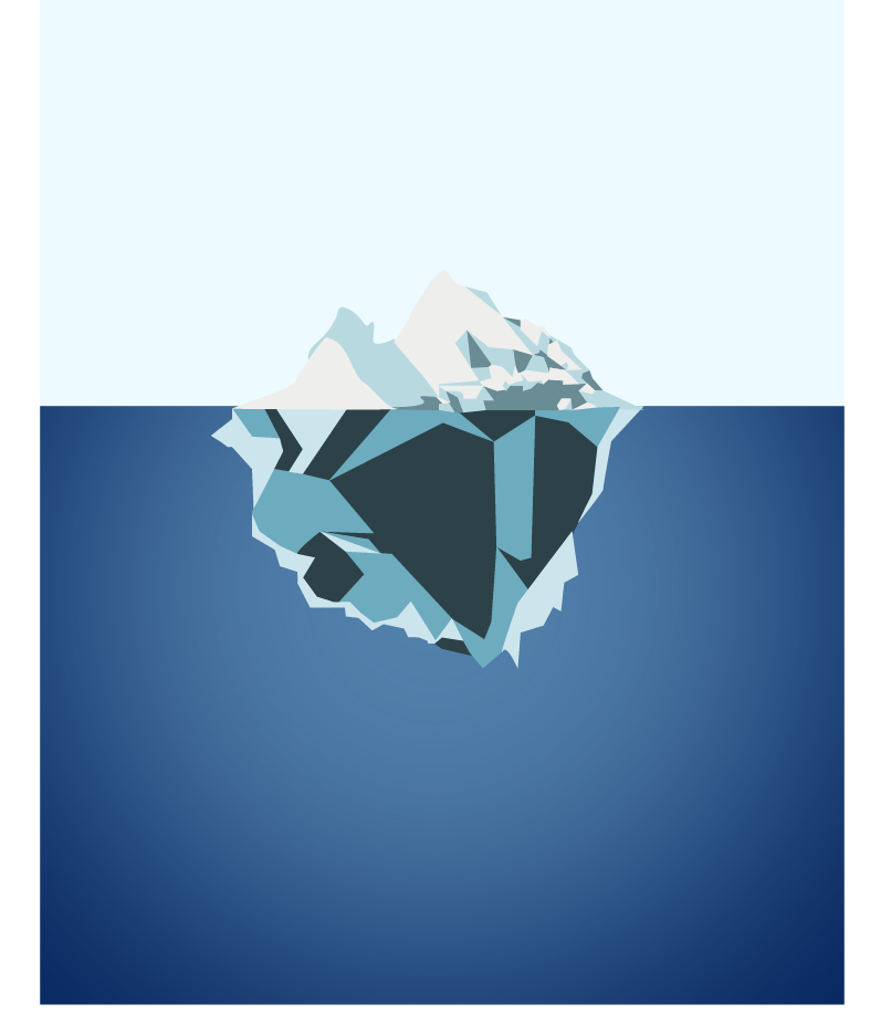 Iceberg by CatastrophicCupcakes