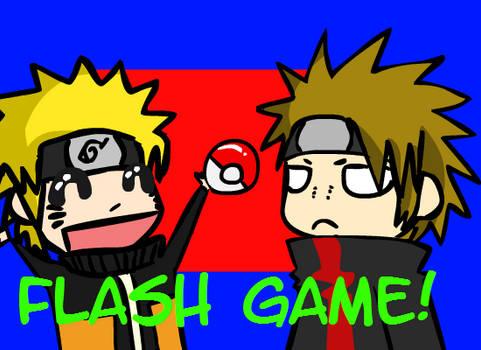 Flash Game: Pokemon + Naruto