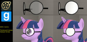 [DL] Pony Glasses/SMD (Bonemergeable) by CamChao