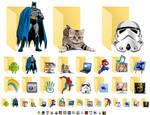 Windows 10 - 16 Custom Folder Icons