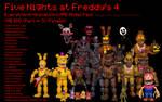 MMD- E_A FNaF 4 PACK (THE END FINALE!) (DL)